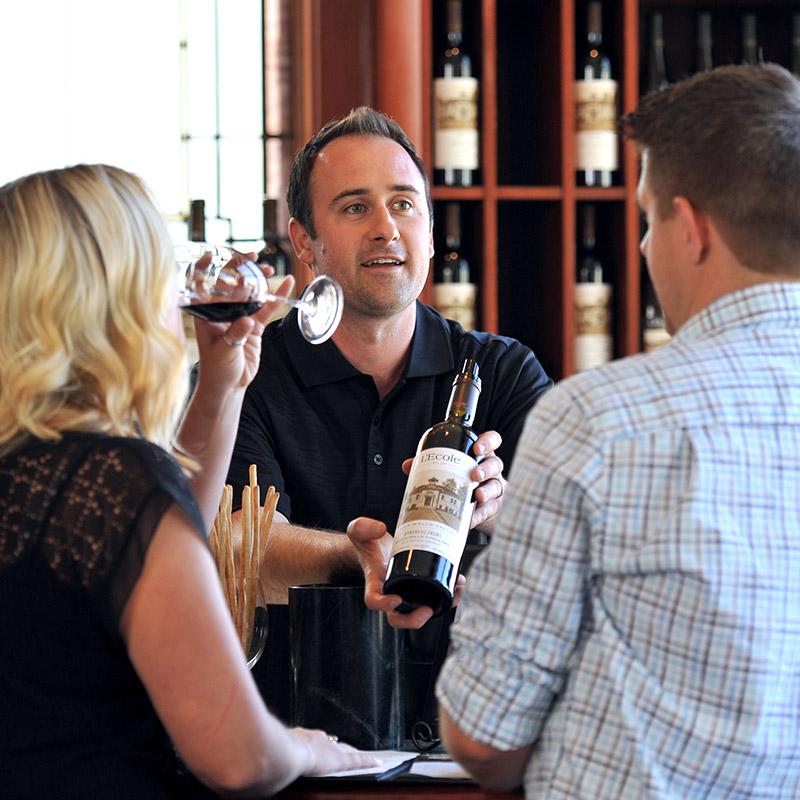 Visit Us Wine Tasting