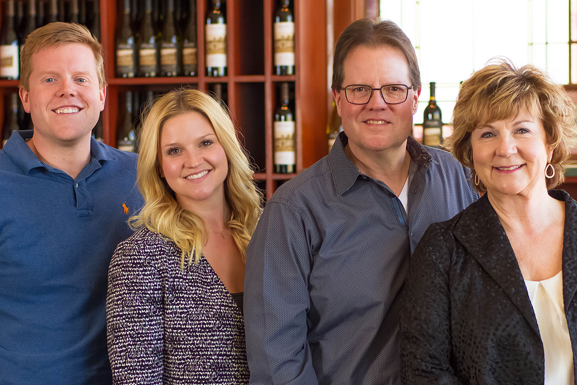 Clubb Family – second & third generation owners of L'Ecole