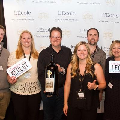 L'Ecole Wine Club team at Portland City Grill, Portland OR