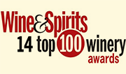 Wine & Spirits 14 top 100 winery awards logo