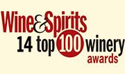 Wine & Spirits 14 top 100 winery awards logo