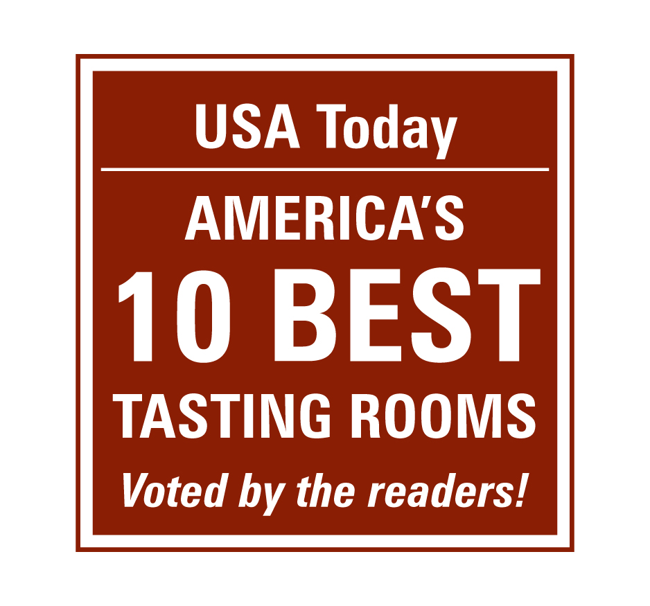 USA Today's America's 10 Best Tasting Rooms