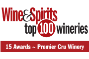 Wine & Spirits Top 100 Wineries Award Logo