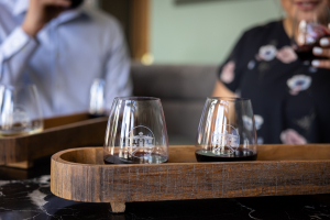 Tasting Flight at Heritage by L'Ecole Wine Bar