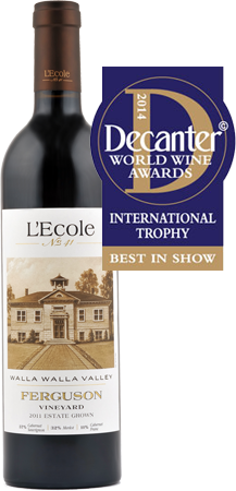 Ferguson Named Best Bordeaux Blend in the World at Decanter World Wine Awards